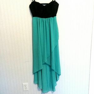Charlotte Russe High Low Sweetheart XS Prom Dress